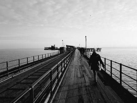 Southend pier in Essex