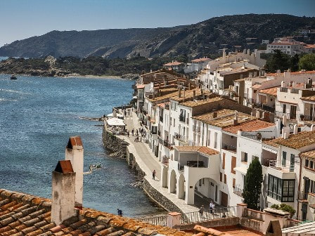 Spanish seaside village