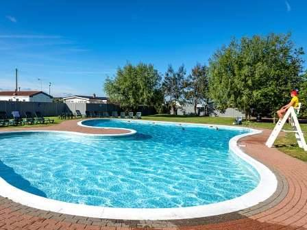 Swimming pool at Dovercourt Holiday Park