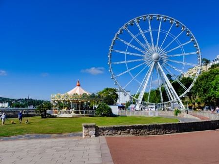 Big wheel in Torquay