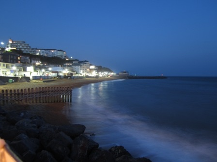 Ventnor Isle of Wight at night