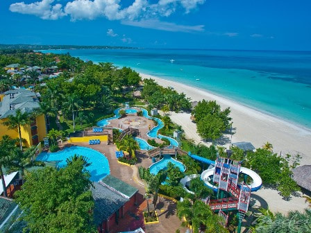 Waterpark at Beaches Negril in Jamaica
