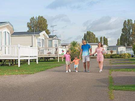 Caravans at Coopers Beach Holiday Park