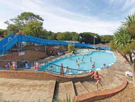 Outdoor swimming pool at Lower Hyde Isle of Wight