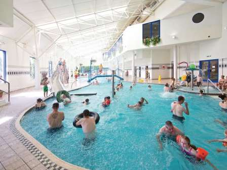 Indoor swimming pool at Stanwix Park Holiday Centre