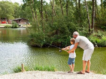 Fishing at Warmwell Holiday Park